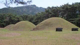 Les tombes Sillas a Gyeongju